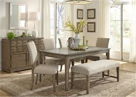 perfect rustic dining table with bench marvelous 26 room set big and small seating 2018 best