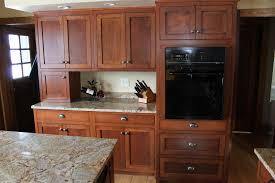 Quarter Round Kitchen Cabinets Oak Kitchen Cabinets Buslineus