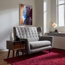 loveseat for small apartment nonagon style