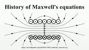 history of maxwell s equations