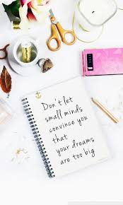 your dreams are not too big quote ultra