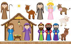 Image result for nativity clip art
