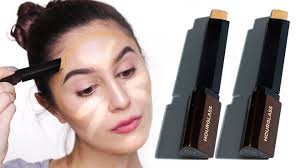 hourgl vanish stick foundation first impressions dry skin karima mckimmie you