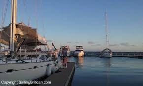living on a boat in a marina