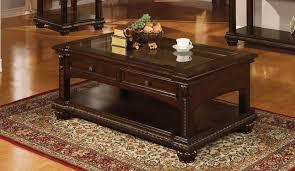 2 drawer storage coffee table
