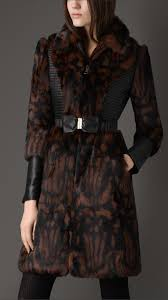 burberry printed fur coat 38412961 001 iluxdb com burberry printed