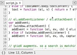 Go to a line number at a specific column   Web   Google Developers