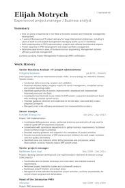 Senior Project Manager Resume Luxury Project Administrator Resume