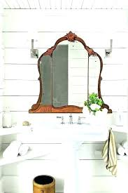 vintage bathroom cabinets for storage. Vintage Bathroom Storage Antique Cabinets For Decor Farmhouse White O
