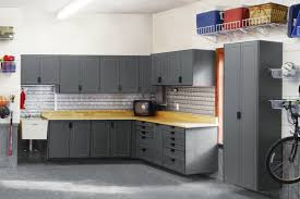 garage cabinets home shelving ideas wall systems diy shelves mounted sears overhead storage organizer of sliding system cabinet lockable wooden adjule