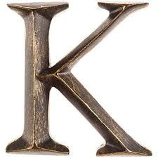 amazing chic letter k wall decor distressed c large art