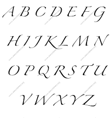 Cursive Writing A To Z Capital And Small Letters