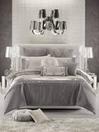 glamorous bedroom furniture. glamorous bedroom in white, silver and shades of grey furniture o