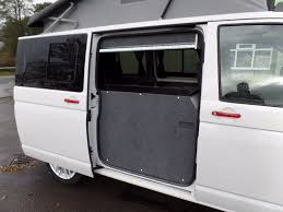 volkswagen transporter t5 candy white twin sliding door camper with satellite navigation air con cruise and rear sensors 2016