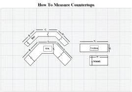 how to measure countertops how to measure 2 measure countertops square feet