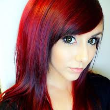 Red Hair Style what is ombre hair and how to do it red ombre hair care 5971 by stevesalt.us
