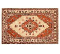 style rug neutral pottery barn persian leslie