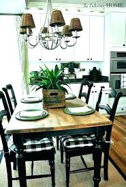 country kitchen table and chairs farm style round tables farmhouse dining centerpiece ideas count