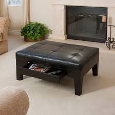 Chatham Black Bonded Leather Storage Ottoman by Christopher Knight Home Buy Black, Ottomans \u0026 Online at Overstock