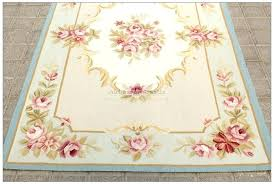 ornamental french needlepoint area rug multi rugs savonnerie aubusson