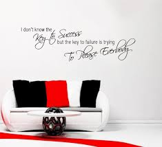 wall decal for office. KEY-TO-SUCCESS-OFFICE-MOTIVATION-WALL-ART-QUOTE- Wall Decal For Office