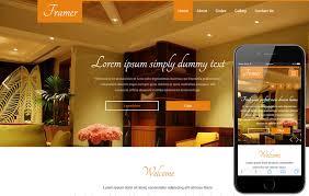 Interior Design Website Templates Responsive Framer A Interior Inspiration Furniture Website Design