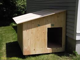 house diy latest wood double dog kennel outdoor large dog house for two for the