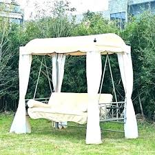 swing bed mattress backyard exotic outdoor canopy cover