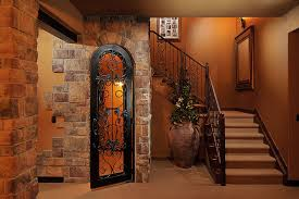 timbers traditional basement basement wine cellar idea