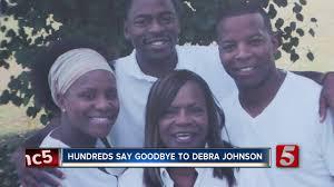 Family, friends remember Debra Johnson at funeral - YouTube