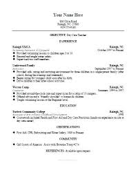 Daycare Teacher Cover Letter Childcare Cover Letter Example Child
