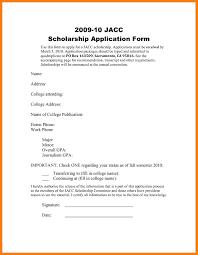 7 Application Letter For Scholarship Sample Pdf Bursary Cover Letter