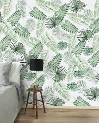 Dit Behang Is Van Creative Lab Amsterdam Wallpaper Leaves