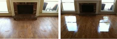 living room hardwood floors before and after resurfacing