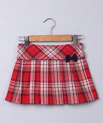Beebay Size Chart Beebay Red Navy Plaid Pleated Skirt Newborn Infant Toddler
