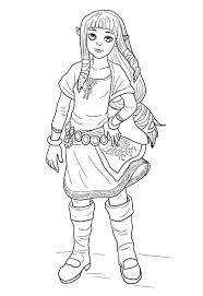 All zelda coloring sheets and pictures are absolutely free and can be linked directly our zelda coloring pages in this category are 100% free to print, and we'll never charge you for using, downloading, sending, or sharing them. Young Zelda Coloring Page Free Printable Coloring Pages For Kids