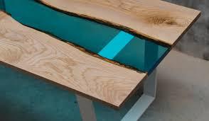 Tisch Azur Epoxidharz Esche Eagle Design