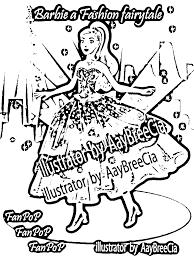 Small Picture Barbie A Fashion Fairy Tale Coloring Pages Coloring Coloring Pages