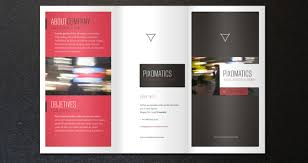 brochure template corporate tri fold brochure template 2 brochure templates pixeden