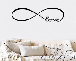 infinity love quotes on wall art stickers love quotes with infinity love quotes wall art stickers