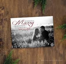 Christmas Wedding Save The Date Cards Save The Date Christmas Card Marry Christmas Save Our Date Card
