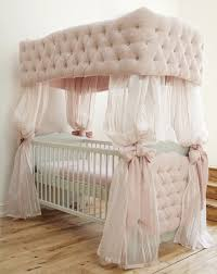 Baby Nursery Gorgeous Vintage Baby Bedding Silk Nursery Curtain Pink Tufted Canopy  Crib White Fitted Sheet