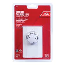 ace double pole line voltage thermostat thermostats ace hardware Double Pole Line Voltage Thermostat Wiring Double Pole Line Voltage Thermostat Wiring #26 double pole line voltage thermostat wiring diagram