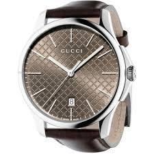 "men s gucci g timeless slim watch ya126318 watch shop comâ""¢ mens gucci g timeless slim watch ya126318"