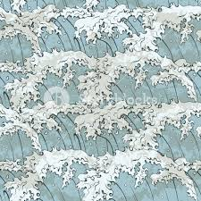 Japanese Wave Pattern Impressive Japanese Waves Pattern Vector Illustration RoyaltyFree Stock Image