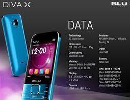 Wholesale Blu Diva X T372t Blue Dual ...