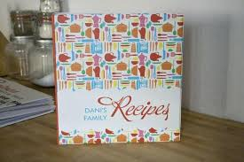 Recipe Binder Templates With Recipe Binder Cover Template Free Custom And Cute