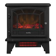 duraflame infrared quartz with 3d flame effect electric stove heater black heating heating cooling home garden