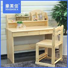 view larger children study table solid wood