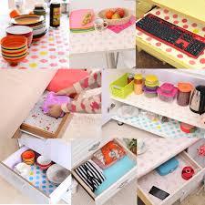 Kitchen Cabinet Shelf Paper Contact Paper Color Dot Drawer Liner Mat Kitchen Placemat Shelf